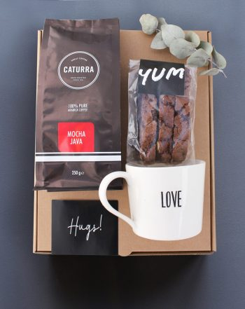 coffee snack gift box